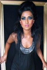Kema Rajandran in one of her portfolio pictures.
