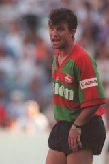 Accused ... former Souths player Craig Field.