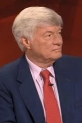 Geoffrey Robertson ... invoked Kant and Shakespeare.