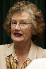 Joining the Flotilla 2 for Gaza ... former Greens MP Sylvia Hale.
