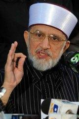 Vowed to convert Islamabad into the ''biggest Tahrir Square'' ... Tahir-ul Qadri.