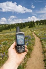 GPS device.