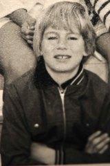 Steve Fielding when he was about twelve years old in grade six.