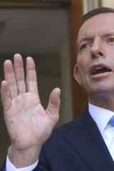 """""""No country has ever subsidised its way to prosperity"""": Tony Abbott."""