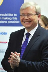 Kevin Rudd: a man of surprises.