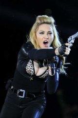 Inspiration: Madonna on 2012's MDNA tour.