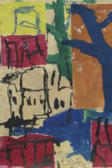 Vivid worlds: Panagia tou Vounou from Roy Jackson's Sifnos series.
