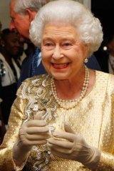 Star treatment ... Queen Elizabeth II has been in the spotlight all week.