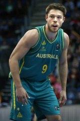 Matthew Dellevedova representing Australia.