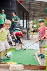 Tobias Volbert believes having children play in the street will encourage more cohesive neighbourhoods.