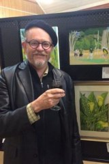 Cricket Australia's retiring public affairs guru Peter Young, who is about to become a full-time artist.