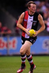 On the move: St Kilda's Brendon Goddard is now a Don.