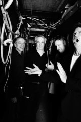 (Left to right) The Sunnyboys: Richard Burgman, Bil Bilson, Jeremy Oxley and Peter Oxley.