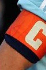 Banned: Del Piero's armband.