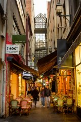 The city's much-loved laneways have been revitalised in recent years.