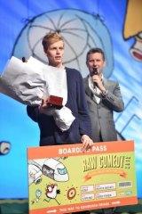 The 2015 Melbourne International Comedy Festival's Raw Comedy national final winner, Queensland's Angus Gordon.