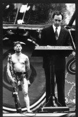 Paul Keating delivers his Redfern speech in 1992.