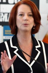 'I promise you, no responsible decision maker will be able to say they need more time or more information on climate change' - Julia Gillard.