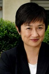 "<b>Penny Wong, Federal Finance Minister</b><br> Born in Malaysia, racially vilified at school and later vilified for her sexuality: ""I didn't become insular. I've seen that happen with kids, but it wasn't my response. I just pretended to be confident, even when I wasn't. I learnt to be steady and still, even when it felt very messy and difficult."""
