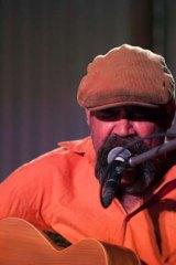 Indigenous musician Mark Atkins.
