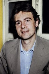 Modiano in Paris on 1978  after he won the Goncourt literary prize.