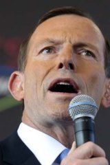 Tony Abbott would accept Labor's mandate to implement its planned emissions trading scheme if it won the election.