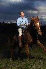 Horse sense: Andrew Forrest punts on his own creation.