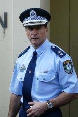 Fed up: Acting Assistant Commissioner Arthur Katsogiannis.