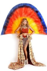 The winning national costume that Miss Universe hopeful Tegan Martin will wear.