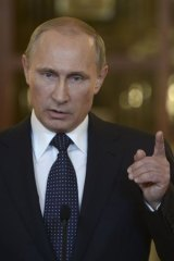 Vladimir Putin talks tough about MH17 and Kiev's alleged role in the tragedy.