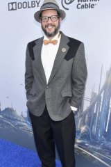 Michael Giacchino at the world premiere of Disney's Tomorrowland.