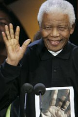 Nelson Mandela ... dreamt of a ''rainbow nation''.