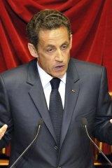 France's President Nicolas Sarkozy.