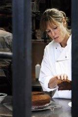Star performer … Skye Gyngell in the kitchen at Petersham Nurseries Cafe.