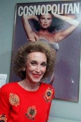 Helen Gurley Brown ... former editor of Cosmopolitan.