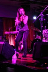 Jasmine Rae performed at Canberra Casino on May 15.
