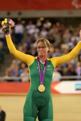 Paralympic gold medallist Susan Powell.