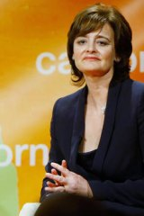 Cherie Blair, wife of the former British prime minister Tony Blair.