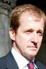 Extremely shocked: Alastair Campbell.