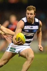 Steve Johnson is one of the big names from Geelong who may be absent this week.
