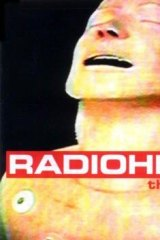 <i>The Bends</i>, Radiohead's second album, created by Donwood by videoing a crash test dummy.