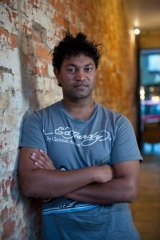 Saroo Brierley, pictured in Hobart in 2012.