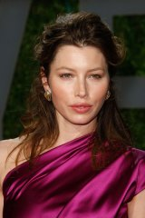 'Virus spreader' ... actress Jessica Biel.