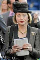 Trainer Gai Waterhouse at Randwick today. Will John Singleton follow through on his threat to remove his horses from Gai's stable?