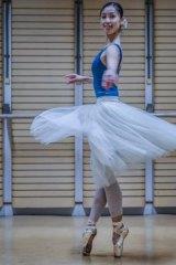 Ako Kondo, a principal ballerina for the Australian Ballet Company.