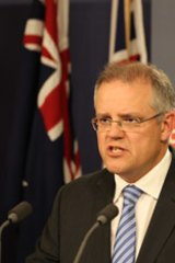 Immigration Minister Scott Morrison.