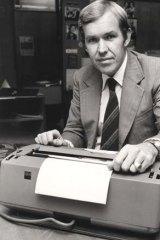 Award winning print, TV and radio journalist ... Peter Harvey in 1984.