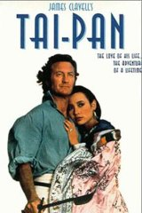 Australian actor Bryan Brown in the film adaptation of Tai-Pan.