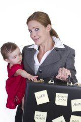 Overload ... taking on too much can lead to maternal guilt.