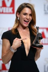 <I>Wentworth</i>'s Danielle Cormack won the Silver Logie for Most Outstanding Actress.